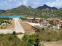 St Barts Runway